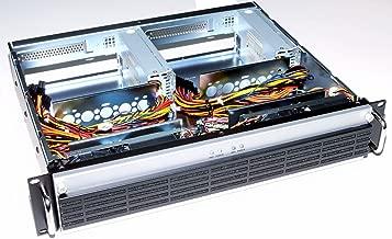 Circotech RM-2270 2U Rackmount Case for Dual Mini-ITX Motherboard, 14