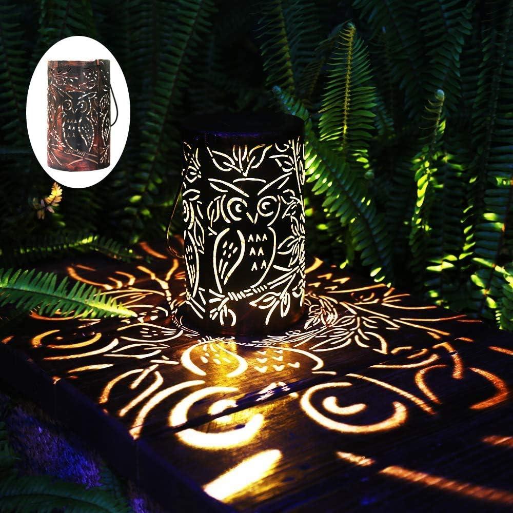 Fashion Esgarden Solar Lantern Bronze Lanter Light Limited price sale Outdoor Hanging