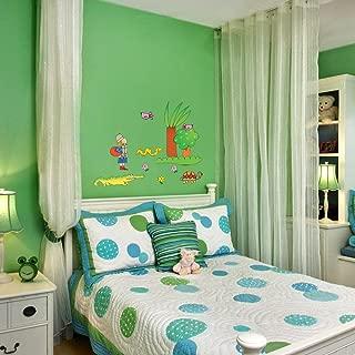 0.1x49x68.5 cm Modello Pirats Imagicom WALLNIC16 Nicoletta Costa Adesivo Decorativo da Parete PVC Multicolore