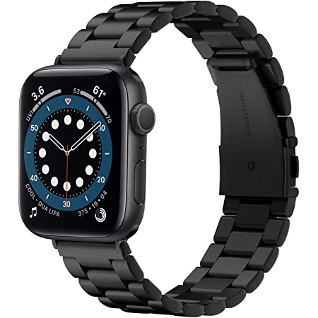 Spigen Modern Fit Band Strap Compatible with Apple Watch (42mm | 44mm) - Black