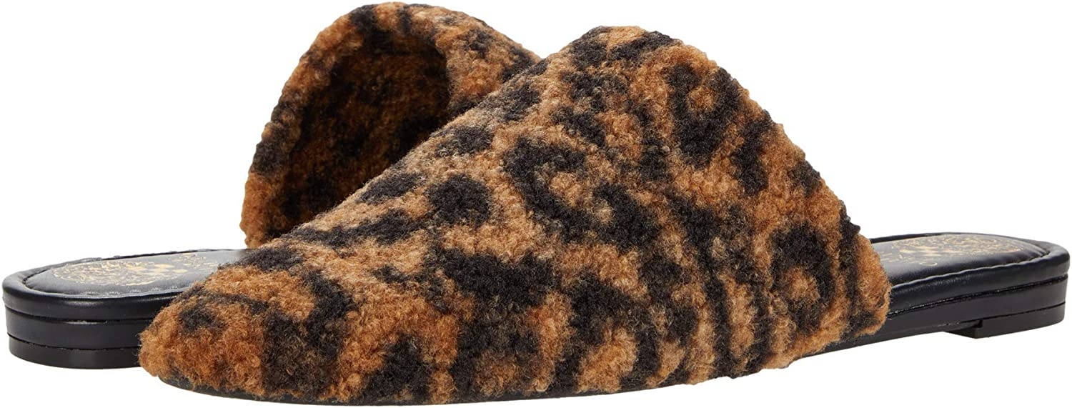 Vince Max 63% Detroit Mall OFF Camuto Women's Vameera Slip-on Shearling Mule Faux