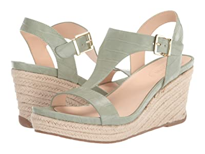 Kenneth Cole Reaction Card Wedge (Sea Green) Women
