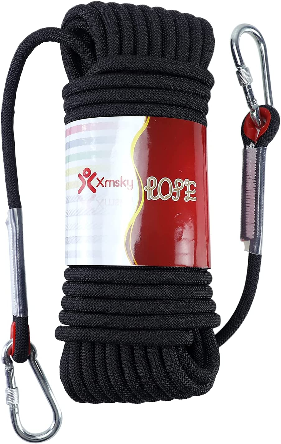 XMSKY Climbing Reservation Rope 12mm Rock Rugged Static NEW before selling Outdoo