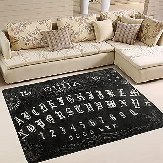 Ouija Board Area Rug Rugs Dining Room Home Bedroom Carpet Floor Mat 63'' x 48''