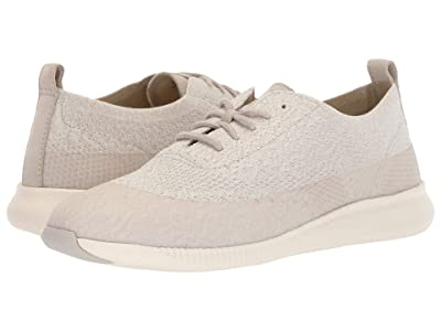 Cole Haan 2.Zerogrand Stitchlite Oxford Water Resistant (Dove/Ivory Knit/Dove Suede/Ivory Gloss/Ivory) Women
