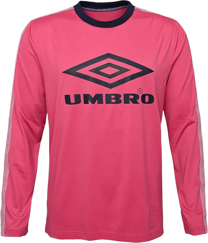 Umbro Sport Womens Training Top Red Crew Neck Long Sleeve Sweatshirt Football