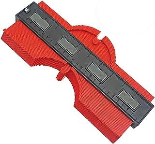 Jauge de contour en plastique 25cm jauge de profilé règle de mesure de mesure pour précision de mesure de carrelage, outil...