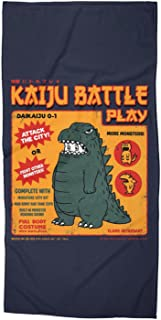 PENGPO Kaiju Battle Play Beach/Bath Towel - 31