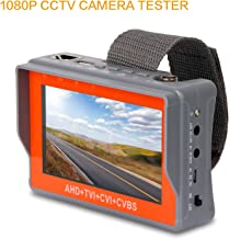 SGEF CCTV Tester 4-in-1 Portable Camera Tester 1080P AHD/TVI/CVI/CVBS Analog Tester 4.3-inch LCD Monitor Wrist Video Tester Cable Test PTZ Control 12V Power Output Audio Tester (IV7S)