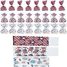 Patriotic America Bags Plastic Cellophane Assorted Bag (24-Pack)