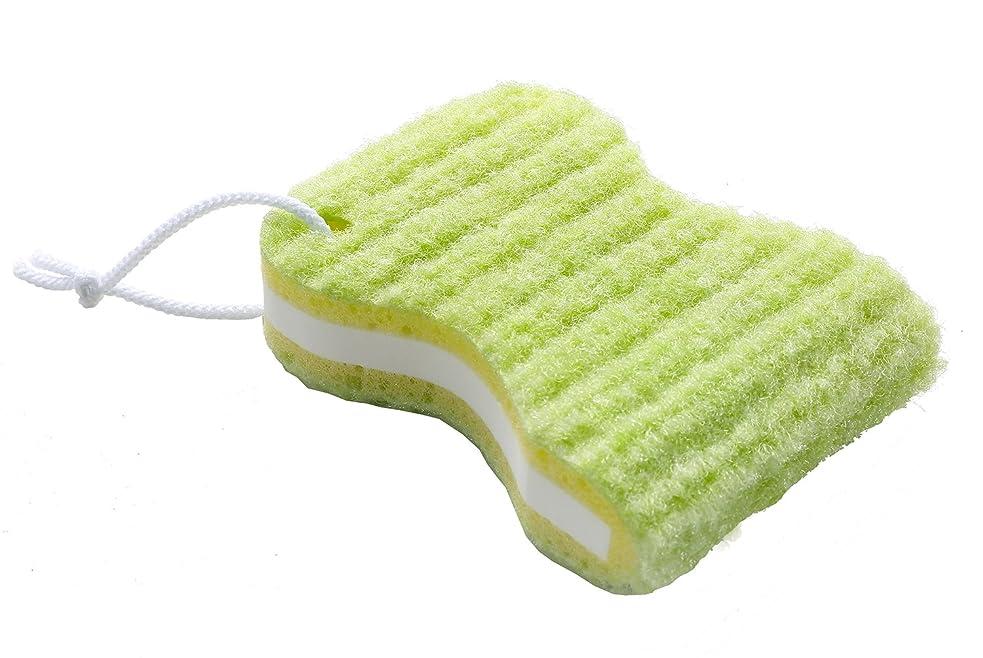 レルム違う聴覚サンコー 洗濯ブラシ びっくりフレッシュ びっくりゴシゴシ洗濯クリーナー グリーン 日本製 BH-51