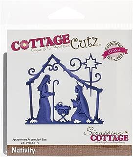 CottageCutz Nativity Elites Die