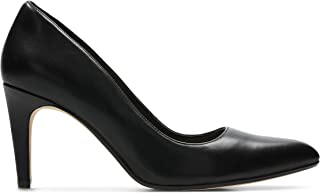 Clarks Laina Rae, Women's Women Pumps, Black (Black Leather), 7 UK (41 EU)