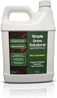 Pure Organic Micronutrient Booster- Complete Plant & Turf Nutrients- Simple Grow Solutions- Natural Garden & Lawn Fertiliz...