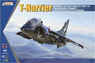Kinetic Model Kits 1/48 Harrier T2/T2A/T2N/T4/T4N/T8 Two Seater Trainer K48040
