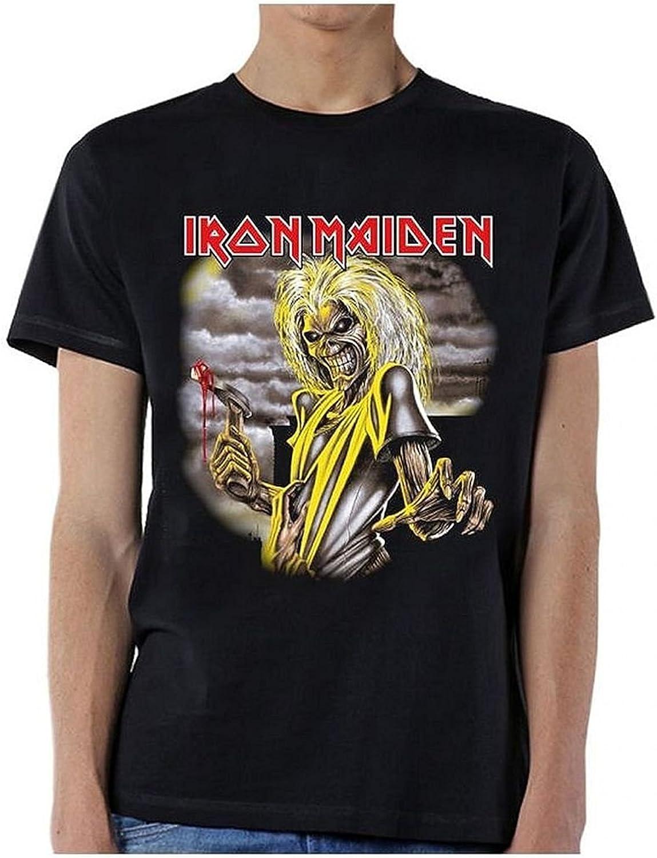 Ill Rock Merch Iron Maiden Killers Single Sided Camiseta
