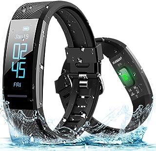 comprar comparacion ELEGIANT Pulsera de Actividad Inteligente Reloj Deportivo IP67 para Hombre Mujer con GPS Monitor de Sueño Podómetro Contad...