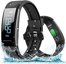 Fitnessarmband ELEGIANT fitness tracker hartslagmeter waterdicht IP67 smartwatch stappenteller activiteitstracker polshorl...