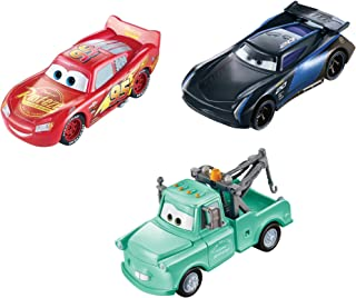 Disney Pixar Cars Color Changers pack 3 voitures changeant de couleur dans l'eau, Flash McQueen, Martin et Bobby Swift, jo...