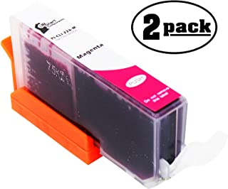 2-Pack Replacement Canon PIXMA MG5320 Wireless Printer Magenta Ink Cartridge - Compatible Canon CLI-226 Magenta Ink Tank (Canon 226)