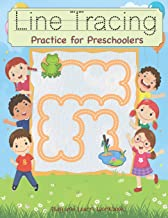 Line Tracing Practice for Preschoolers: Workbook practice paper for Toddler, PK, K, 1st Grade, Paperback or Kids Ages 3-5, Fun with dotted lined sheets,8.5x11 inches