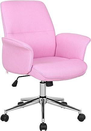 Chaise De Bureau Rose 0704M 3673