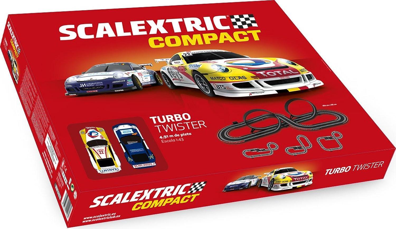 connotación de lujo discreta Scalextric- Turbo Twister, Color Rojo (Scale Competition Xtreme Xtreme Xtreme C10260S500)  para barato