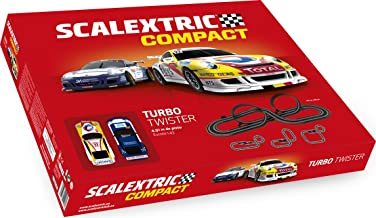 Scalextric- Turbo Twister, Color Rojo (Scale Competition Xtreme C10260S500)