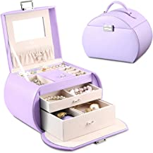 Vlando Princess Style Jewelry Box from Netherlands Design Team, Fabulous Girls Gift (Lavender)