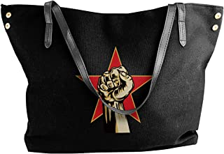 Prophet Of Rage Canvas Shoulder Bags For Women Casual Messenger Bags Shopping Tote Handbags
