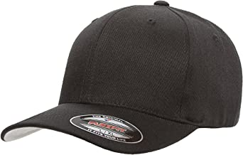 Flexfit/Yupoong Unisex-Adult Mens 6477 Wool Blend Athletic Baseball Fitted Cap Hat