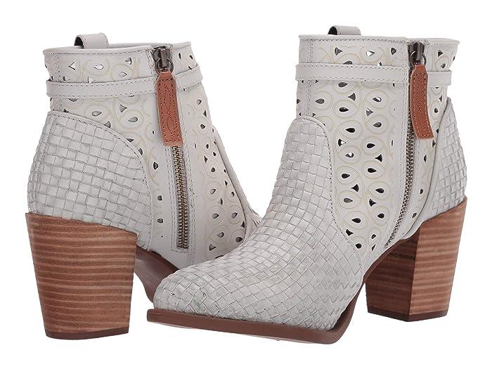 White) Women's Zip Boots