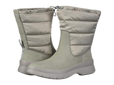 Cole Haan Pinch Utility Puffer Boot Waterproof (Rock Ridge WP Suede/Tonal Nylon/Silver/Rock Ridge) Women