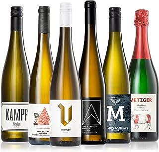 GEILE WEINE Weinpaket RIESLING 6 x 0,75l Deutscher Weißwein von Winzern aus Rheingau, Pfalz, Saar und Rheinhessen