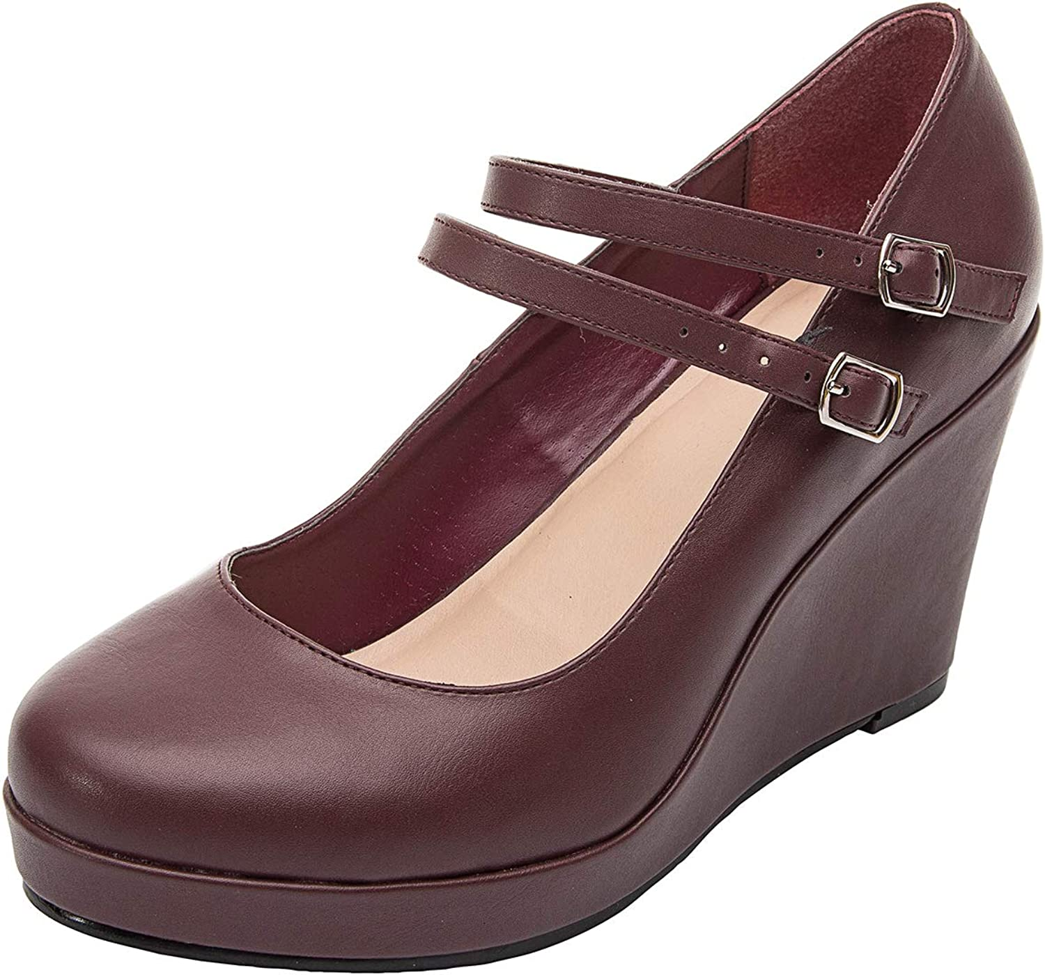 Ankle Boots for Women - Short Boots for Ladies w Low Chunky Block Stacked Heels Round Toe, Slip on Ankle Boots.