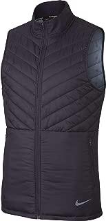 Men's AeroLayer Run Vest Gridiron/Gridiron/Ashen Slate M
