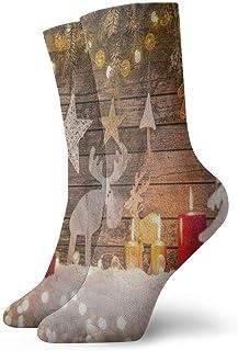 BEDKKJY, Calcetines Deportivos Dibujados a Mano London City Elegante Bota Corta Unisex Stocking Party Calcetín Liquidación para niños