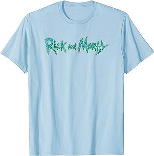 Adult Swim Rick & Morty Distressed Logo T-Shirt
