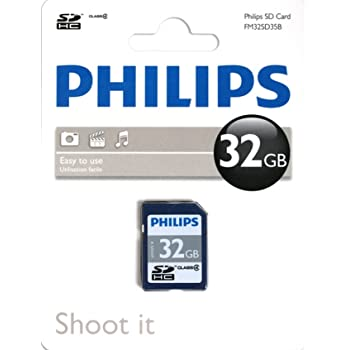 tarjeta SD High Speed Philips class 4 8gb SDHC