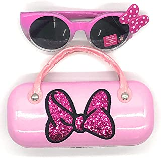 Minnie Mouse Girls Sunglasses & Hard shell Carrying Case...