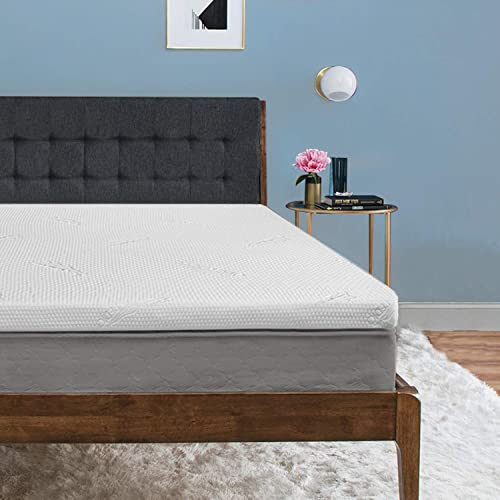 Tempur-Pedic TEMPUR Supreme 3-Inch Premium Foam Mattress Topper, Adaptable Personalized Comfort