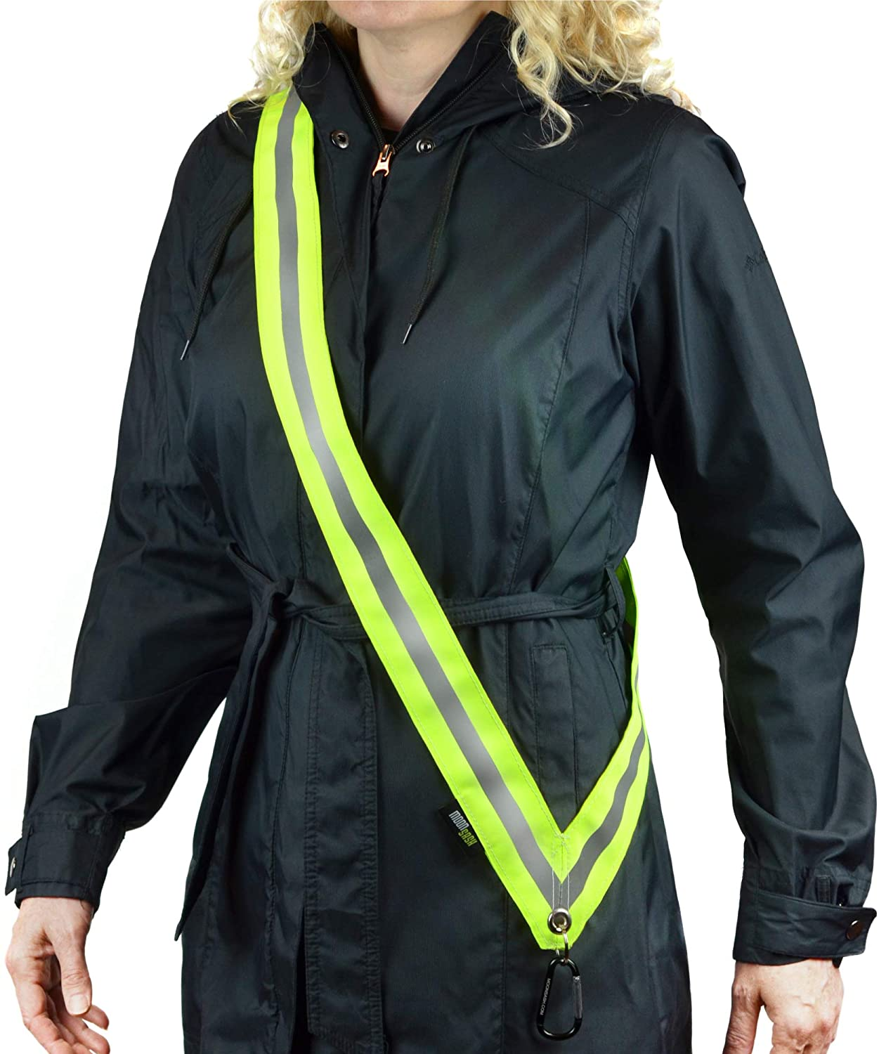 MOONSASH > MADE Attention brand in Max 48% OFF USA Patented Reflective Walk for Night Gear