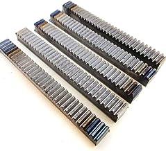 SSB-JIAJUPJ, 1 stuk materiaal voor de kleine productie van stalen rack, 1 Modulus M1 Gear Rack DIY Rack (grootte: 16 cm)