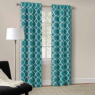 Mainstays Calix Fashion Window Curtain Panel Pair, 84