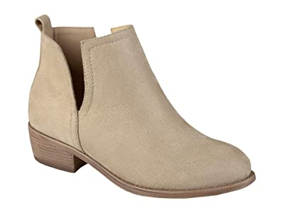 Journee Collection Rimi Bootie (Stone) Women