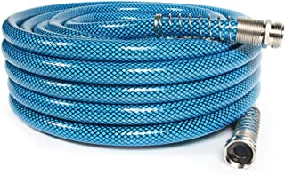 "Camco 50ft Premium Drinking Water Hose - Lead Free and Anti-Kink Design - 20% Thicker Than Standard Hoses - Features a 5/8"" Inner Diameter (21009)"