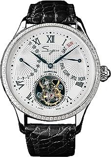 Sugess - SU8004SBED Tourbillon Master Seagull ST8004 Movimiento Zafiro Cristal Reloj mecánico para hombre 1963