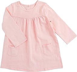aden + anais Long Sleeve Pocket Dress (Infant)