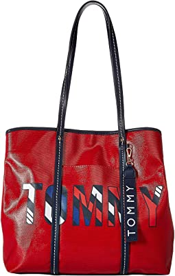 Tommy Logo Roma Tote