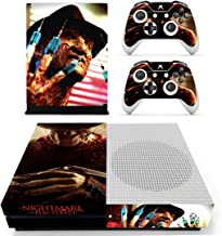Decal Moments Xbox One S(Slim)Console Skin Set Vinyl Decal Sticker Protective for Xbox One S(Slim) Console Controllers Horror